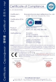 We achieve the CE certificate for our mixer machine