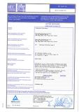 CB Test Certificate 1