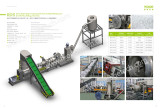 Single stage compacting die face cutting pelletizing line