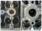 Engine block cleaning