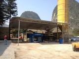 QT10-15D concrete block production line in Malaysia