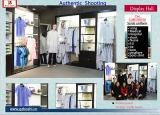 medical uniform showroom