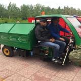 customer OEM visit garbage three wheeler