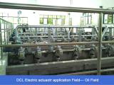 DCL Electric actuator application field- oil field