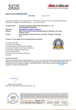 SGS Certificatation