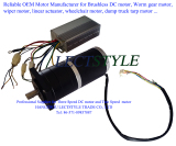 industry airflow air cooler DC brushless exhaust fan motor
