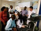 Seminar of testing machine in Africa