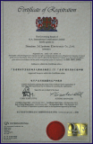 ISO9001 2008 Certification