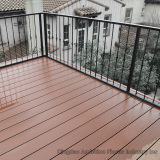 WPC decking on balcony