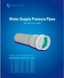 PRESSURE PIPE (as/NZS 1477 standard )