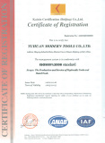 ISO9001: 2008 Standard for Hydraulic Tools and Hand Tools