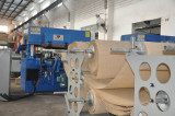 fully auto roller feeding cutting for fabric
