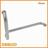 Bathroom door tube handle