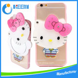 Lovely mirror cartoon case for iPhone