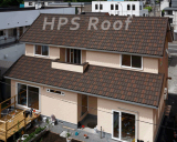 Milano type roof tile house building