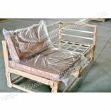 Aluminum bent sofa