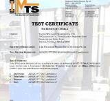 Scaffolding Steel Plank Test Certificate