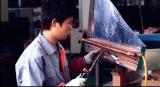 Chiller cooper tube welding