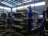 six color plastic film flexo printing machine