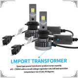 CREE chip LED Headlight with 4800lm per bulb and reasonable price