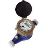 Multi Jet Semi Dry Liquid Sealed Water Meter