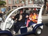 Suzhou Eagle′s street legal people mover in Holland