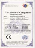 GPS Kids Tracker CE Certificate