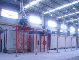 Composite metal coating production