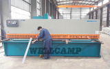 Cutting steel plate machine