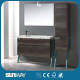 2015 Newest European Melamine Bathroom Cabinet with Mirror
