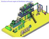 20Ton Waste Oil to Diesel oil refining distillation plant