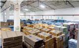 Finish prodution stocking area