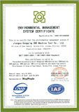 Enviroment Management System Certificate