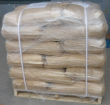 Wooden pallet 25kg package