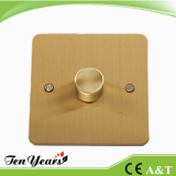 DIMMER 250/500/400/1000W with SATIN BRASS