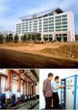 A company building