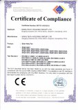 ROHS certificate for integrated solar road light