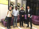 Nice meeting for electronic components for cars