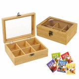 Eco-Friendly Wooden Tea Box Wood Storage Box