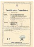 Certificate LED SMD Bulb CE EMC