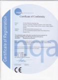 Certificate of Conformity 2
