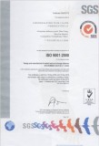SGS ISO9001:2000