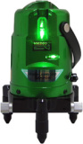 Laser level tool for outdoor used green laser level three beams
