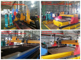 Four Sets CNC Plasma and Flame Cutting Machine for MMHE Malaysia