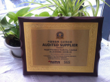 AUDITED SUPPLIER(SGS CERTIFICATE)