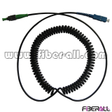 Spring Fiber Optic Patch Cord
