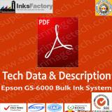 TDS & Description for GS6000 Bulk Ink System