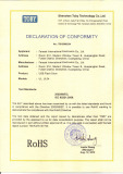 USB RoHS certificate