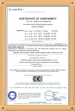 CE certificate for Battery charger