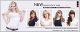 Fashionable Heat-Resistant 100% Kanekalon Synthetic Hair Wigs